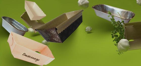 opakowania, foremki, aluminiowe, tekturowe, pudełka plastikowe, papier pakowy, folia, opakowanie,wsuwka